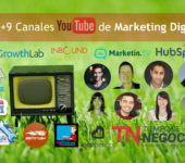 9+1+9 Canales de Youtube necesarios para estar al día en marketing digital