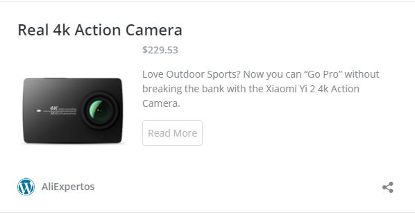Cámara Xiaomi Yi Action 4k
