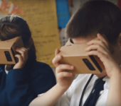 Google Expeditions transforma algunas aulas de España