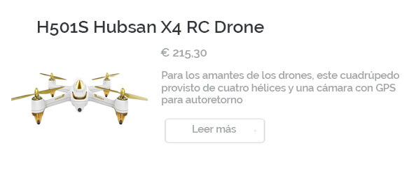 Dron Hubsan H501S X4
