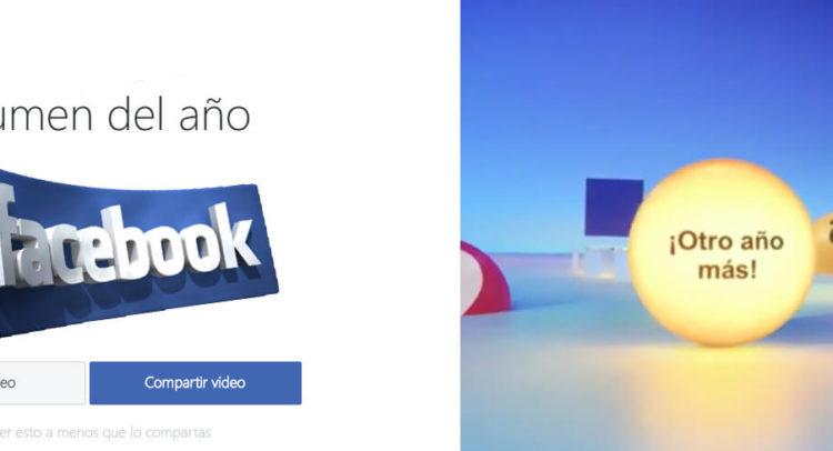 Facebook #Yearinreviw2016