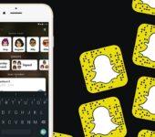 Barra de búsqueda Snapchat: Una novedad amigable