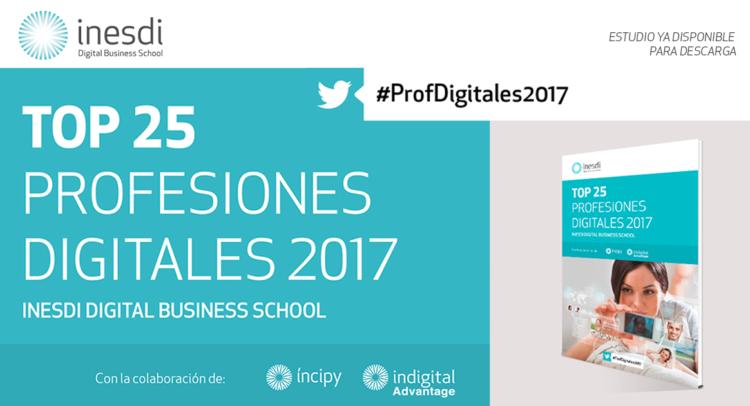 Profesiones digitales 2017