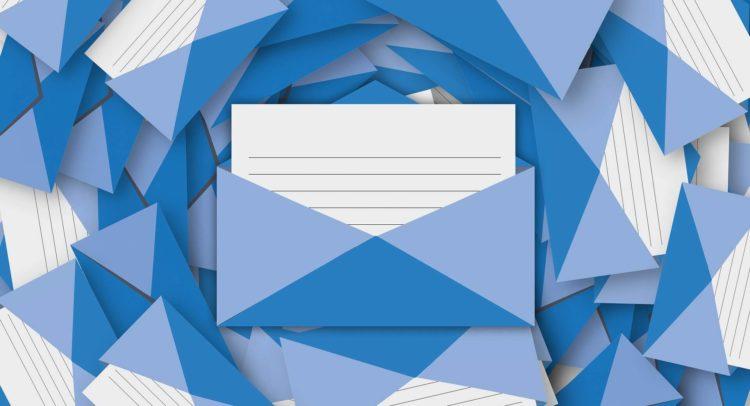 correos electrónicos en frío