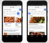 Google App se transforma en asistente de cocina