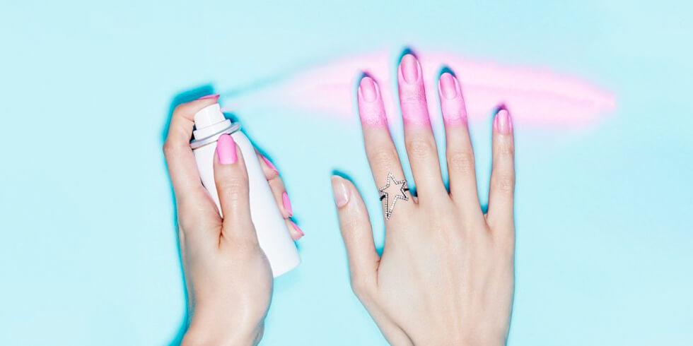 Esmalte de uñas en spray