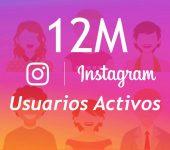 Instagram alcanza los 12 millones de usuarios en España