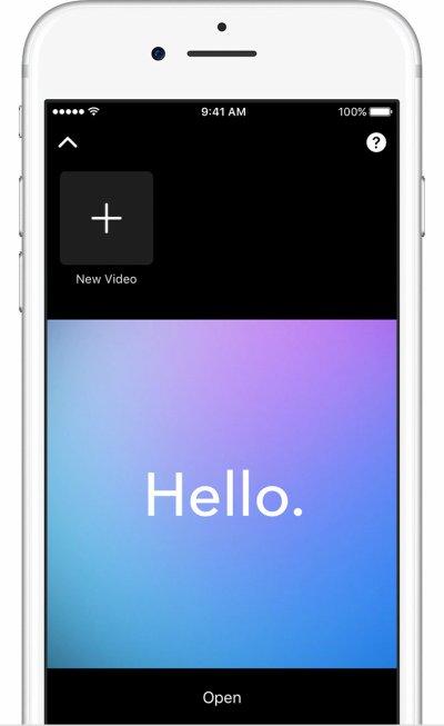 Grabar un nuevo clip de vídeo iphone 7